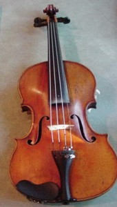 Rare antique violin labelled William E. Hill and Sons
