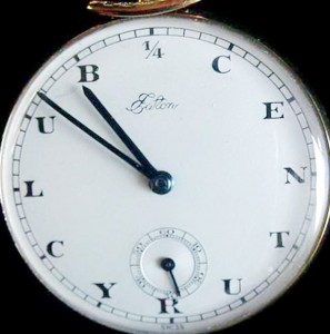 Eaton's Quarter- Century Pocket Watch